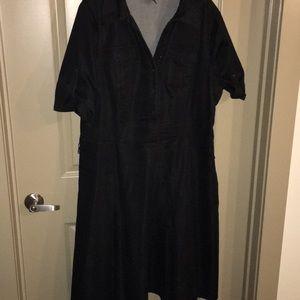 Dresses & Skirts - Black Aline dress